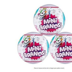 Mini brands zuru 5 Surprise 3 Unidades Bolas Sorpresa