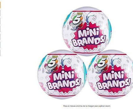 Mini brands zuru 5 Surprise 3 Unidades Bolas Sorpresa