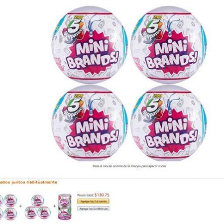 Mini brands zuru 5 Surprise 4 Unidades Bolas Sorpresa