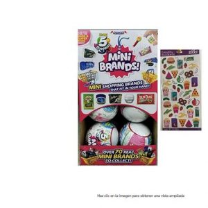Mini brands zuru 5 Surprise pack 12 Unidades Bolas Sorpresa