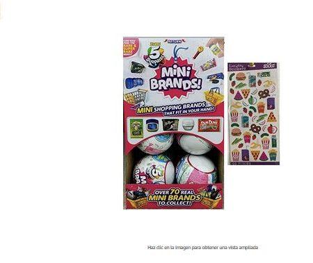 Mini brands zuru 5 Surprise pack 12 Unidades Bolas Sorpresa