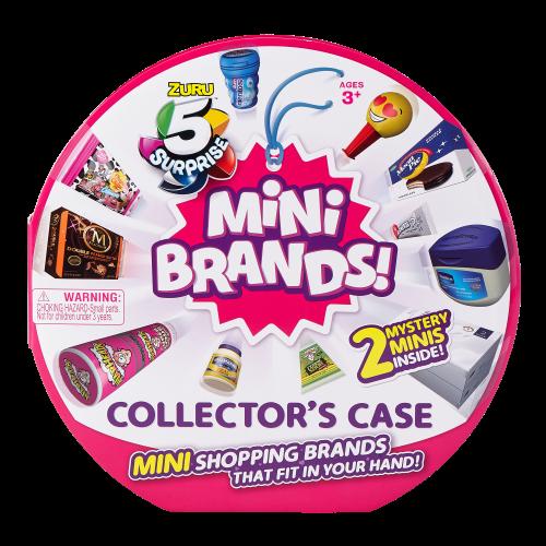 caja para coleccionar mini brands