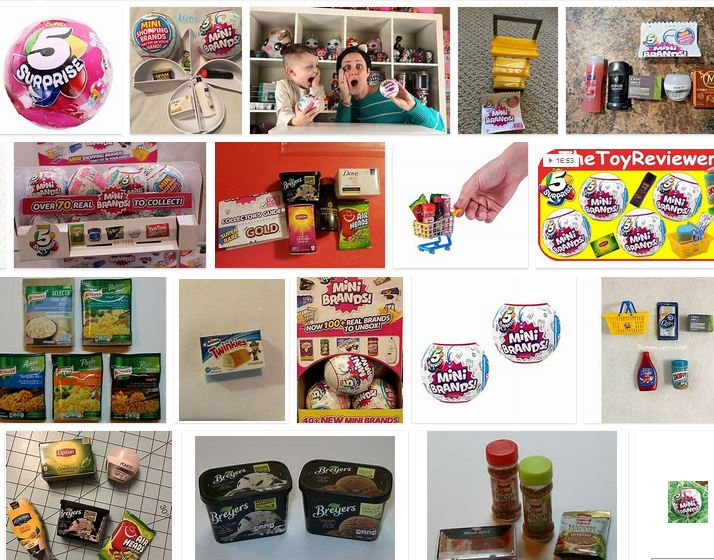 mini brands zuru tik tok donde comprar miniaturas marcas