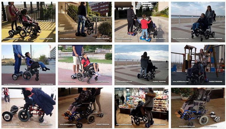 motor auxiliar paseo sillas de ruedas