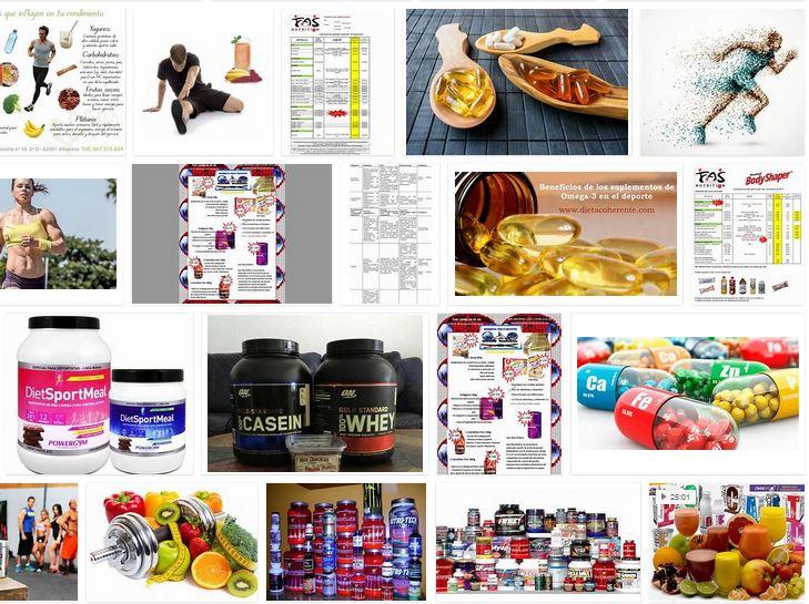 pack suplementos nutricionales para deportistas