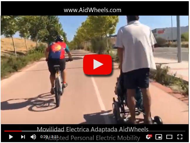 motor carrito sillitas de bebe hoverpusher aidwheels