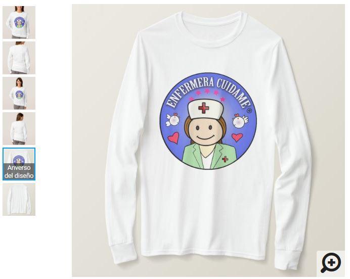 camisetas personalizadas para enfermeras