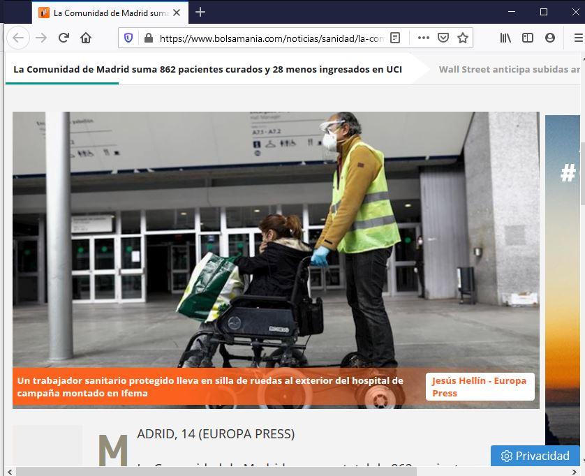 IFEMA silla de ruedas motor electrico acompañante Madrid Spain