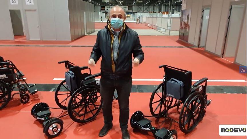 Patinetes electricos sillas de ruedas