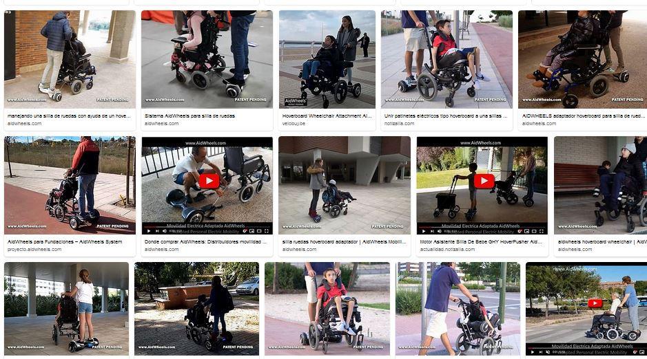 patinete electrico silla ruedas