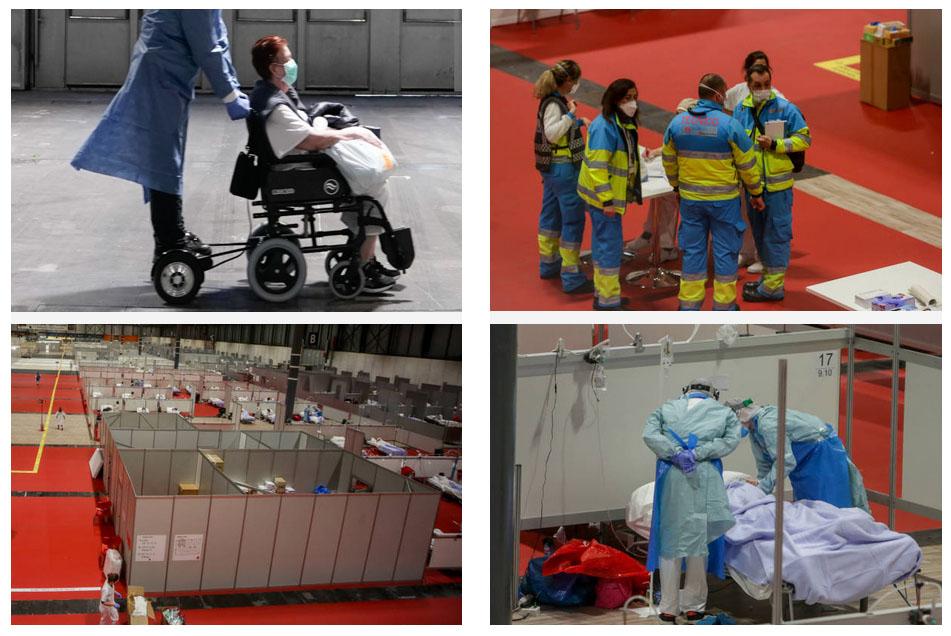 sillas de ruedas con motor asistente en IFEMA