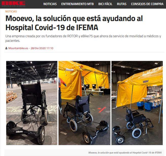sillas de ruedas motorizadas de ifema