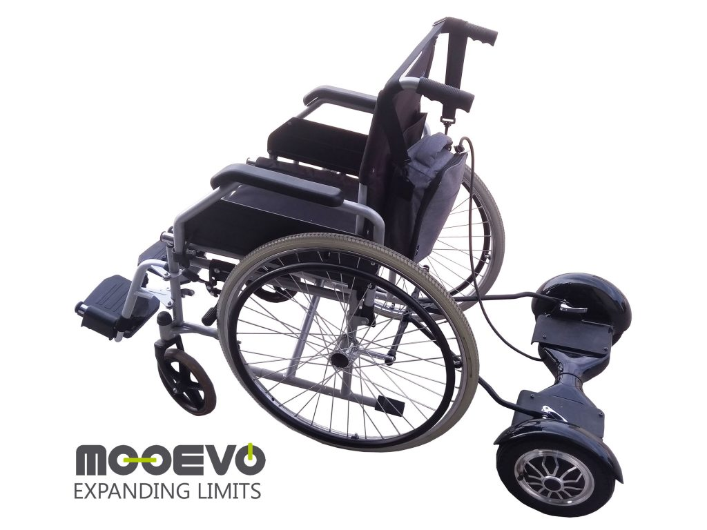 AidWheels by Mooevo HoverPusher para Silla de ruedas manual pediátrica Invacare Action