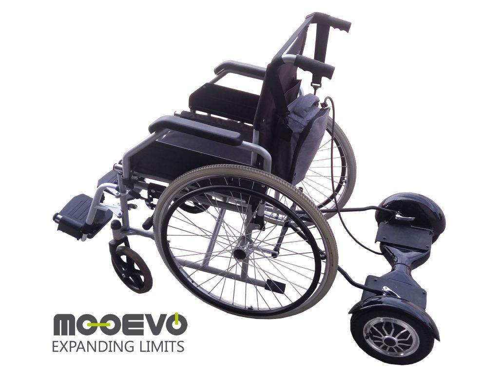 sillas de ruedas para llevar con patinete electrico