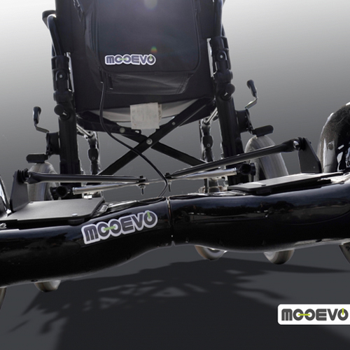 AidWheels by Mooevo HoverPusher para Silla de ruedas reclinable Quiru