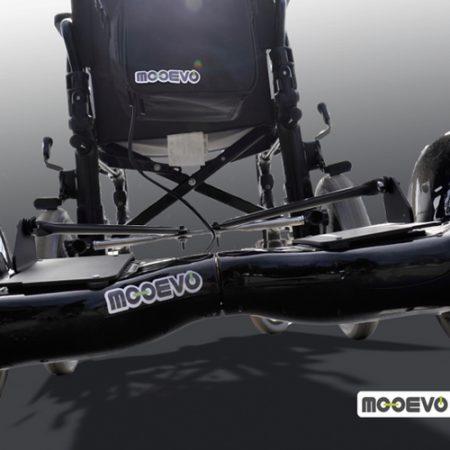 AidWheels by Mooevo HoverPusher para Silla de ruedas plegable Breezy 250 rueda grande