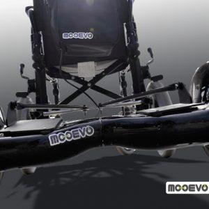 AidWheels by Mooevo HoverPusher para Silla de ruedas ligera de aluminio plegable Ópera Mobiclinic
