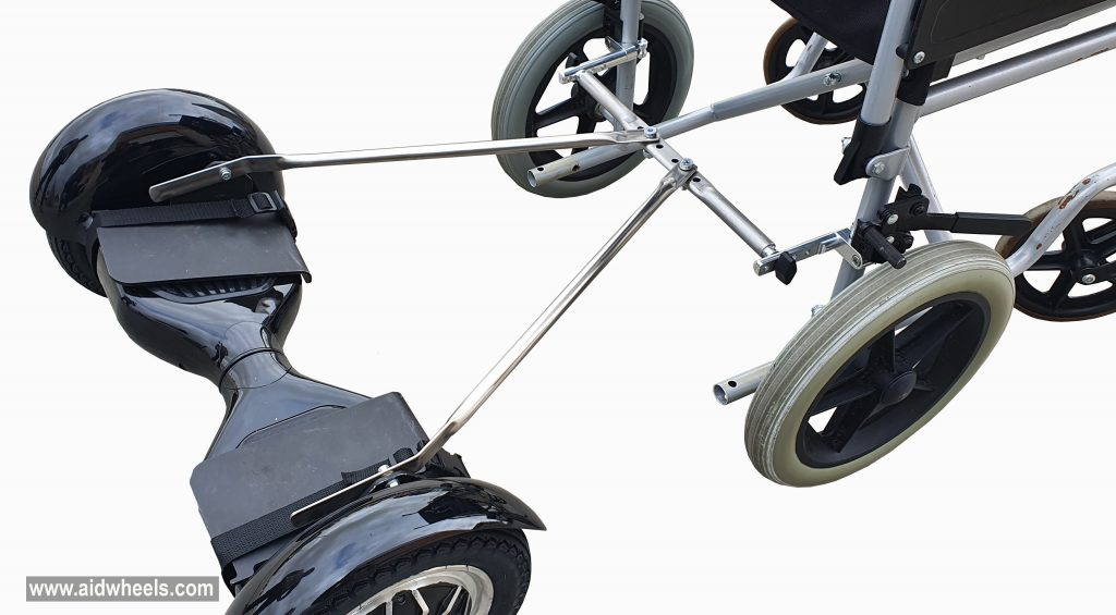 adaptar patinete electrico hoverboard aidwheels