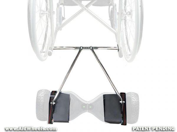 adaptador silla ruedas patinete