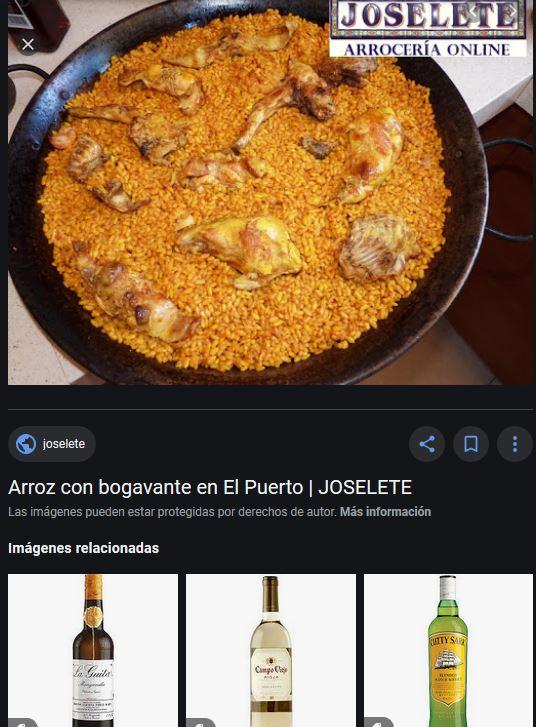 arroceria arroz con pollo puerto santa maria cadiz 11500