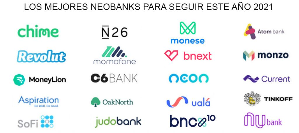 mejores neobancos fintech momofone n26 revolut chime bnext monese opiniones