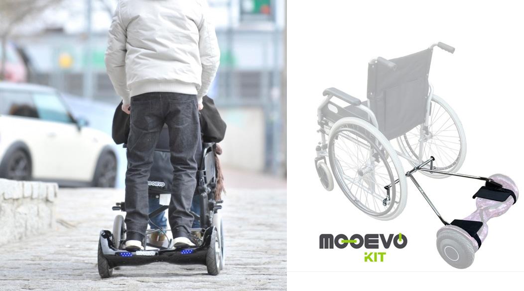 Motor ayuda patinete electrico Mooevo para Silla de ruedas Avantgarde Ottobock
