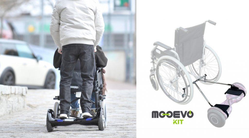 patinetas para sillas de ruedas