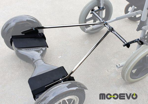 Mooevo Kit Adaptador Hoverboard a Silla de Ruedas