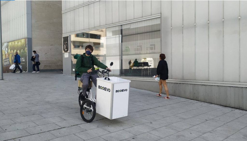 electric vehicle last mile delivery