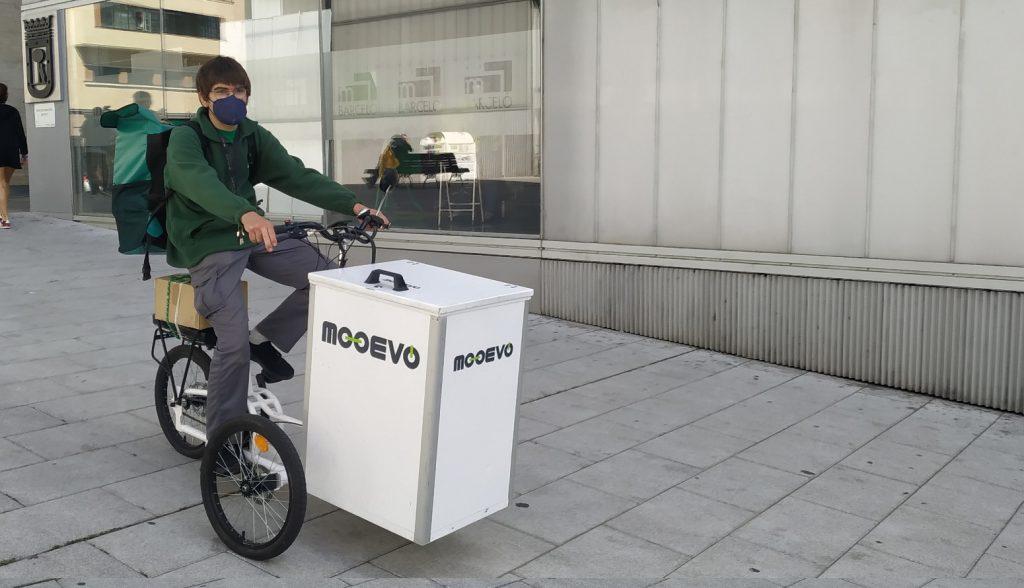 empresas reparto sostenible vehiculo electrico urbano