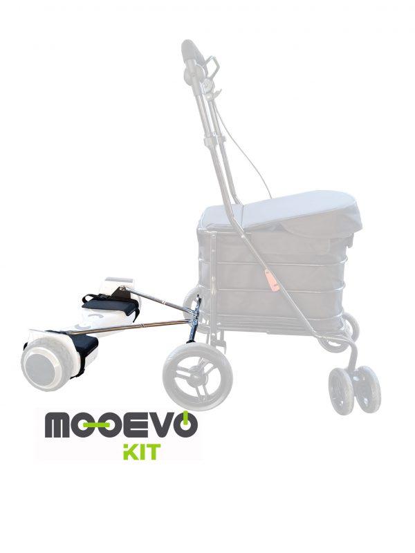 Mooevo Kit Adaptador Hoverboard a Carrito de la Compra