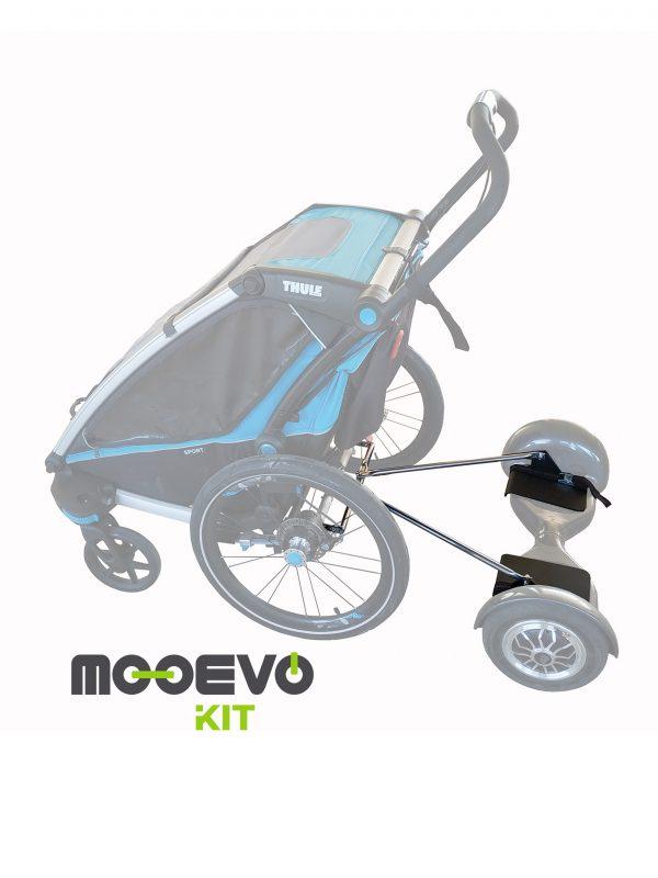 Mooevo Kit Adaptador Hoverboard a Thule Chariot