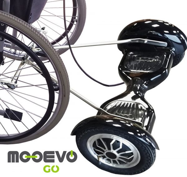 Plataforma Mooevo Go + Silla de Ruedas