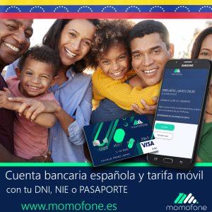 Ver cuenta bancaria compartida tarifa de movil