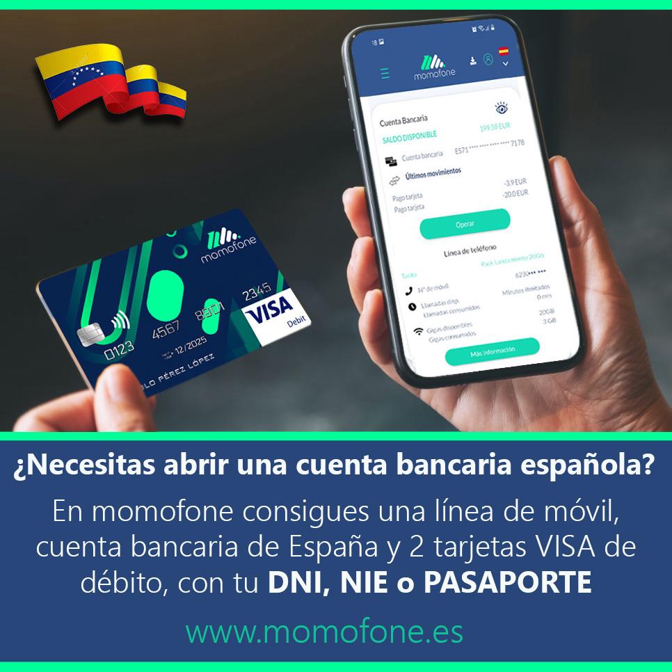 Ver hacer cuenta de banco online y telefonia