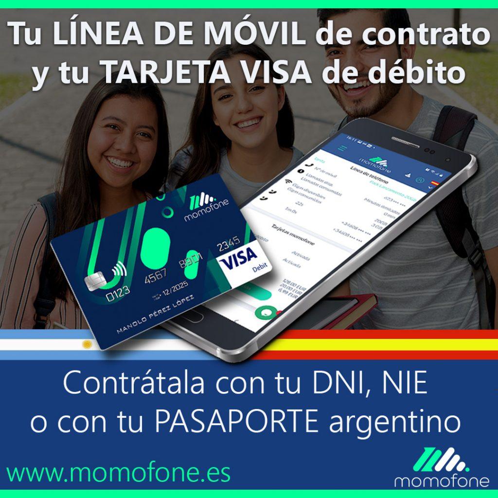 contratar movil con pasaporte argentino