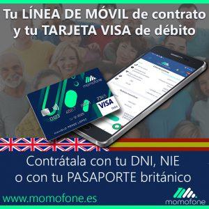 Ver cuenta banco con pasaporte y telefono movil