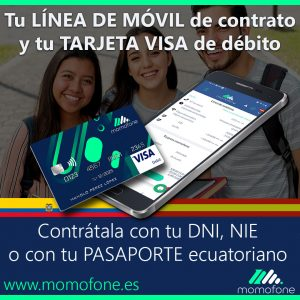 Ver crear cuenta bancaria online contrato de movil