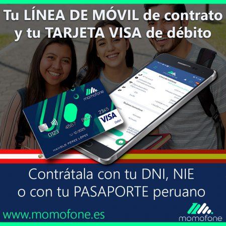 Ver cuenta bancaria gratuita y telefono movil
