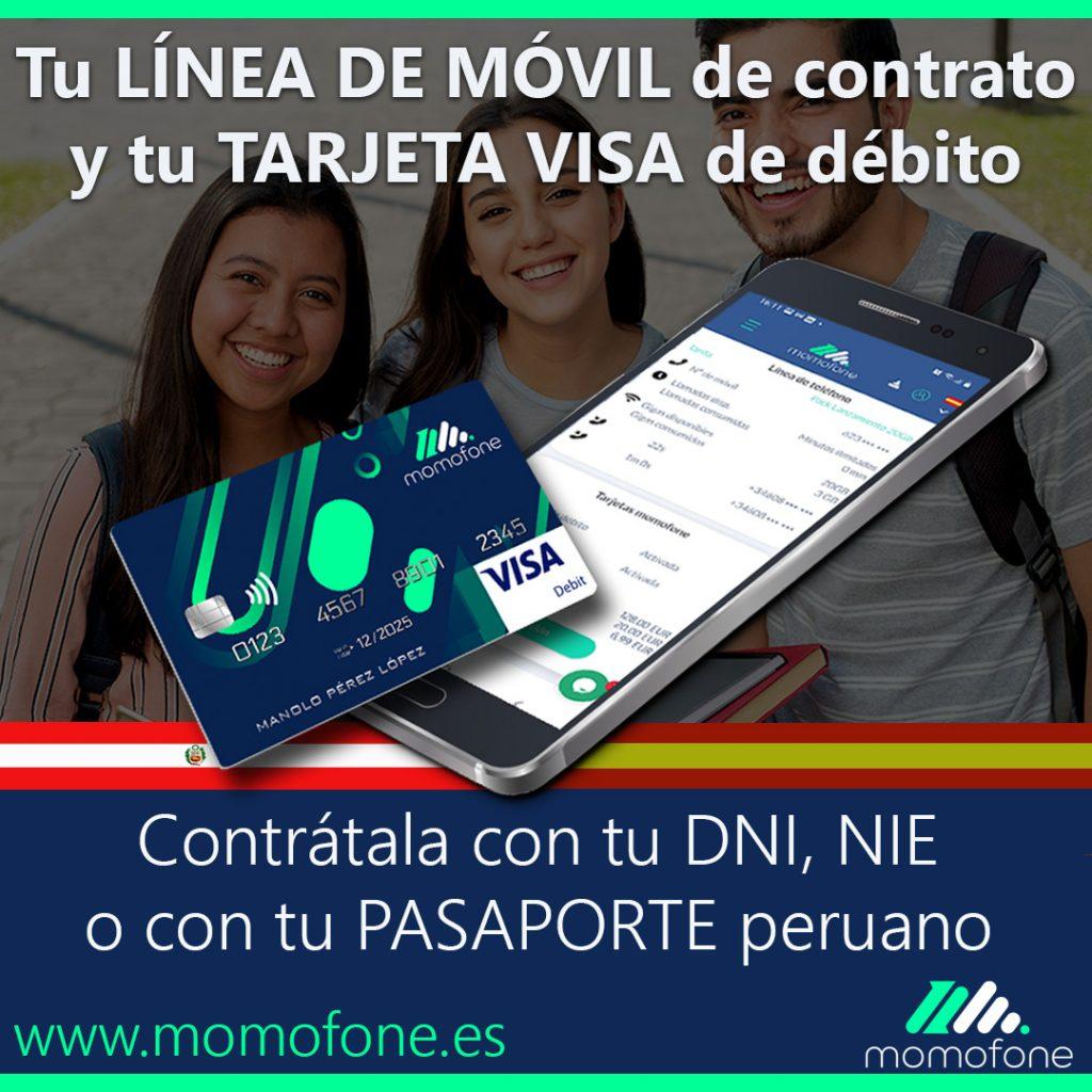 contratar movil con pasaporte peruano