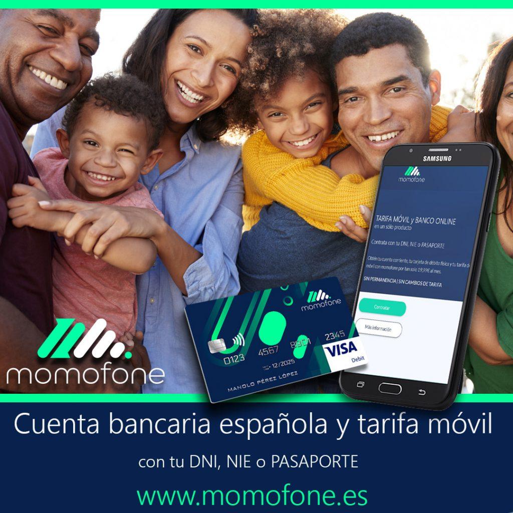 cuenta bancaria con pasaporte en españa