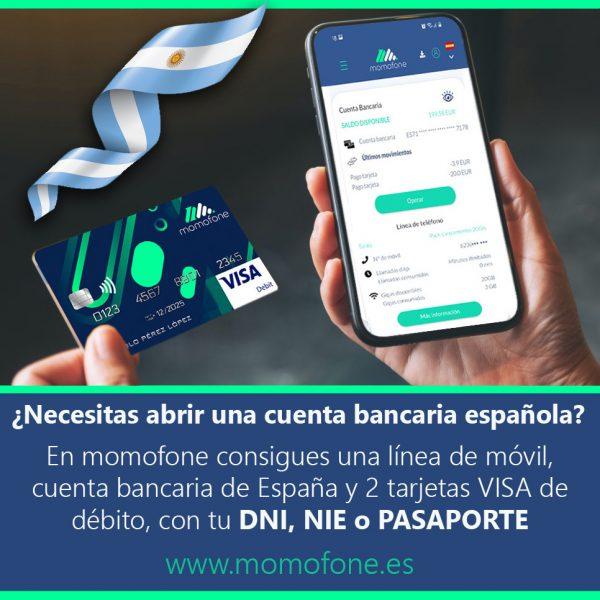 Ver cuenta bancaria para expatriados y telefonia