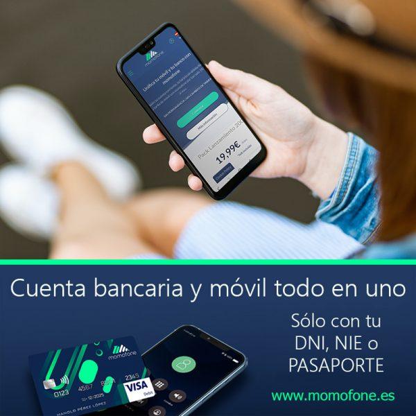 Ver crear cuenta de banco por internet tarifa de movil
