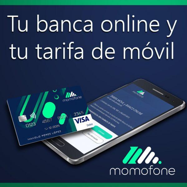 Ver cuenta en el banco y telefono movil