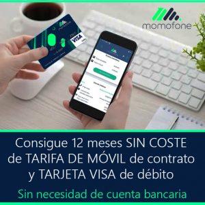 Ver cuenta bancaria sin nomina tarifa de movil