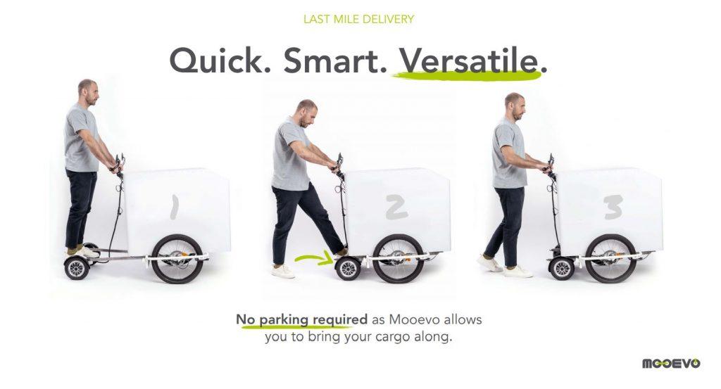 Cargobikes Beneficios en el reparto de última milla