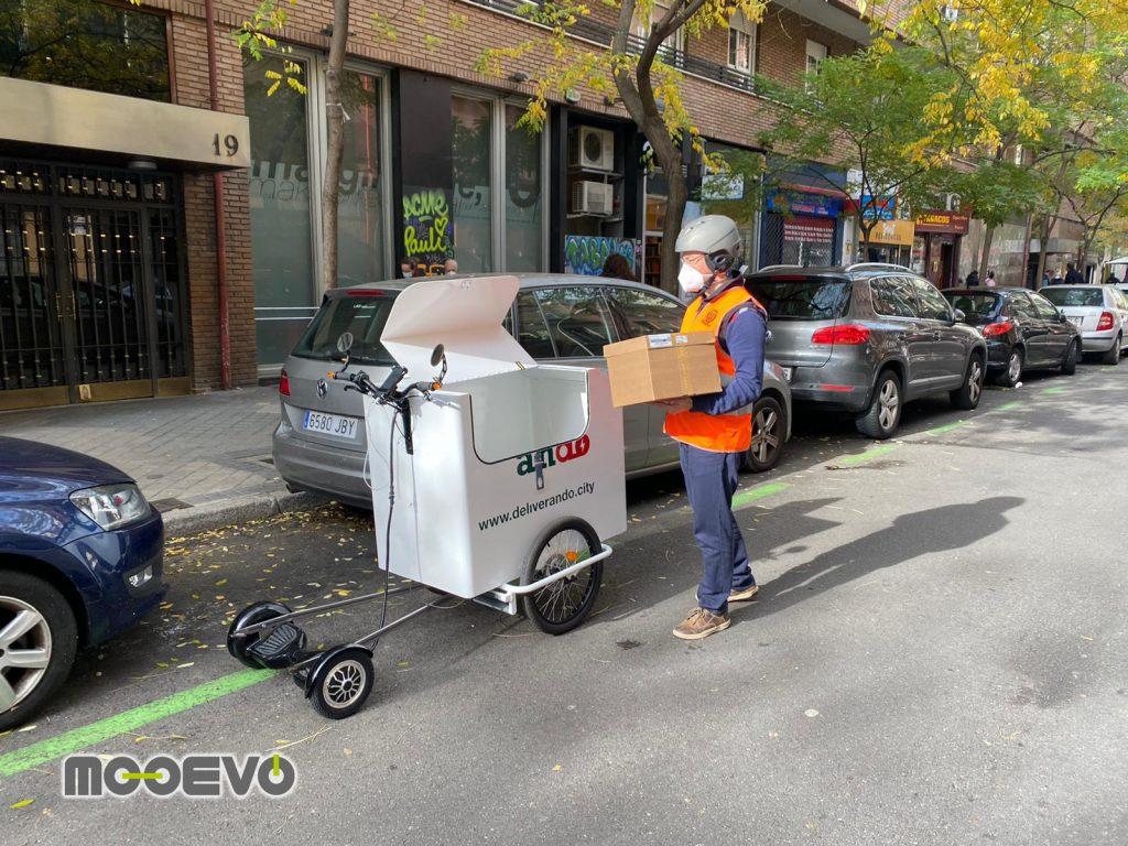 cargo bikes delivery ultima milla vehiculos electricos nuevos
